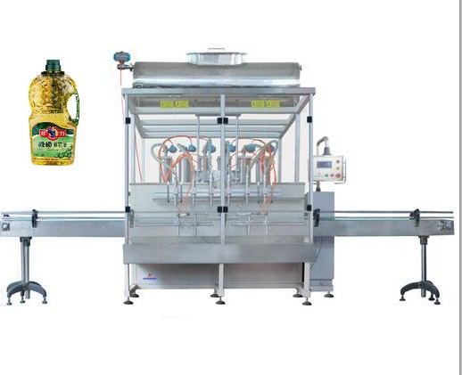 Automatic oil bottle filling machine