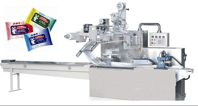 wet wipes packing machine,wet tissue packaging machine,baby wipes package machine