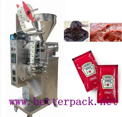 Automatic small tomato paste filling and sealing machine