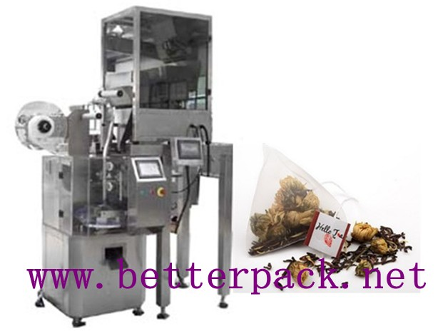 pyramid tea bags, pyramid tea bags packaging machine,pyramid tea bags making machine,tea packaging machinery,tea packaging machines